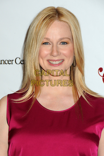 "LAURA LINNEY .16th Annual UCLA Jonsson Cancer Center Foundation ""Taste For A Cure"" Fundraiser held at the Beverly Wilshire Hotel, Beverly Hills, California, USA, 15th April 2011..portrait headshot red smiling .CAP/ADM/BP.©Byron Purvis/AdMedia/Capital Pictures."