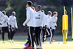 MARIETTA, GA - DECEMBER 06: Atlanta United FC's Darlington Nagbe. The MLS Cup 2018 Team Training Sessions were held on December 6, 2018 at the Children's Healthcare of Atlanta Training Ground in Marietta, GA.