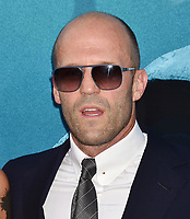 HOLLYWOOD, CA - AUGUST 06: Jason Statham attends the premiere of Warner Bros. Pictures and Gravity Pictures' Premiere of 'The Meg' at the TLC Chinese Theatre on August 06, 2018 in Hollywood, California.<br /> CAP/ROT/TM<br /> &copy;TM/ROT/Capital Pictures