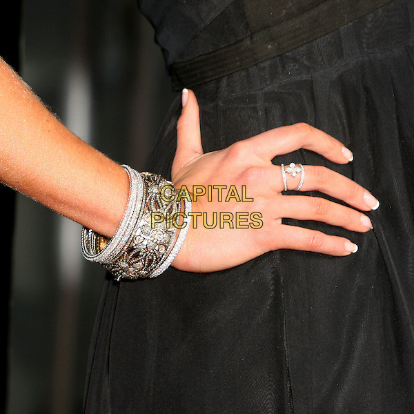 "KIMBERLY STEWART.""The Reaping"" Los Angeles Premiere at Mann's Village Theatre, Hollywood, California, USA, 29 March 2007..hand detail bracelets ring.CAP/ADM/BP.©Byron Purvis/AdMedia/Capital Pictures."