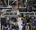 Nevada forward Jordan Caroline (24) shoots against San Jose State in the second half of an NCAA college basketball game in Reno, Nev., Wednesday, Jan. 9, 2019. (AP Photo/Tom R. Smedes)