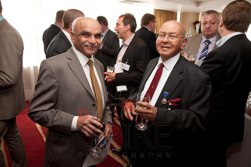 Lab Hindocha of Hinocha & Co Accountants and Bill Sen of AFH Financial
