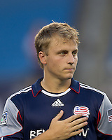New England Revolution defender Seth Sinovic (27). The New England Revolution defeated Monarcas Morelia in SuperLiga 2010 group stage match, 1-0, at Gillette Stadium on July 20, 2010.