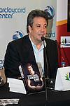 "Ex bastekball player Carmelo Cabrera during the presentation of the book ""Carmelo Cabrera, El globertrotter blanco"" at Barclaycard Center in Madrid, March 01, 2016<br /> (ALTERPHOTOS/BorjaB.Hojas"