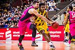 Kelan MARTIN (#30 MHP Riesen Ludwigsburg) \Bojan SUBOTIC (#7 Telekom Baskets Bonn) \ beim Spiel in der Basketball Bundesliga, MHP Riesen Ludwigsburg - Telekom Baskets Bonn.<br /> <br /> Foto &copy; PIX-Sportfotos *** Foto ist honorarpflichtig! *** Auf Anfrage in hoeherer Qualitaet/Aufloesung. Belegexemplar erbeten. Veroeffentlichung ausschliesslich fuer journalistisch-publizistische Zwecke. For editorial use only.