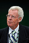 30 March 2008: Baseball Hall of Fame journalist Peter Gammons watches batting practice prior to the inaugural game of Nationals Park between the Atlanta Braves and the Washington Nationals in Washington, DC. The Nationals christened their new ballpark with a 3-2 win over the visiting Braves...Mandatory Photo Credit: Ed Wolfstein Photo