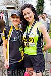 Lisa Griffin and Rachel Stokes, Listowel runners at the Kerry's Eye Tralee, Tralee International Marathon and Half Marathon on Saturday.