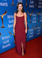 LOS ANGELES, CA. February 17, 2019: Alexis Jacknow at the 2019 Writers Guild Awards at the Beverly Hilton Hotel.<br /> Picture: Paul Smith/Featureflash