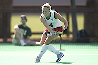 STANFORD, CA - OCTOBER 19:  Jaimee Erickson of the Stanford Cardinal during Stanford's 12-0 win over UC Davis on October 19, 2008 at the Varsity Field Hockey Turf in Stanford, California.