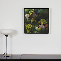 "Preston: Spring Forest, Digital Print, Image Dims. 19.75"" x 19.75"", Framed Dims. 21.25"" x 21.25"""