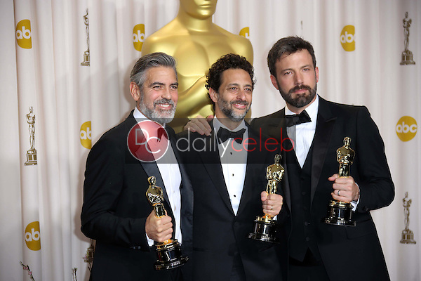 George Clooney, Grant Heslov, Ben Affleck<br />