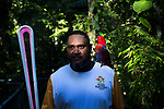 Batonbearer Terence Solomon carrying the Baton as the Queen's Baton Relay visited Daintree Discovery Centre. In the host state of Queensland the Queen's Baton will visit 83 communities from Saturday 3 March to Wednesday 4 April 2018. As the Queen's Baton Relay travels the length and breadth of Australia, it will not just pass through, but spend quality time in each community it visits, calling into hundreds of local schools and community celebrations in every state and territory. The Gold Coast 2018 Commonwealth Games (GC2018) Queen's Baton Relay is the longest and most accessible in history, travelling through the Commonwealth for 388 days and 230,000 kilometres. After spending 100 days being carried by approximately 3,800 batonbearers in Australia, the Queen's Baton journey will finish at the GC2018 Opening Ceremony on the Gold Coast on 4 April 2018.