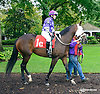 Miss Modela with Ms. Jennifer Miller before The Fegentri Amateur Riders Club of America Race at Delaware Park on 10/3/15
