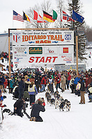 Jessica Hendricks Willow restart Iditarod 2008.