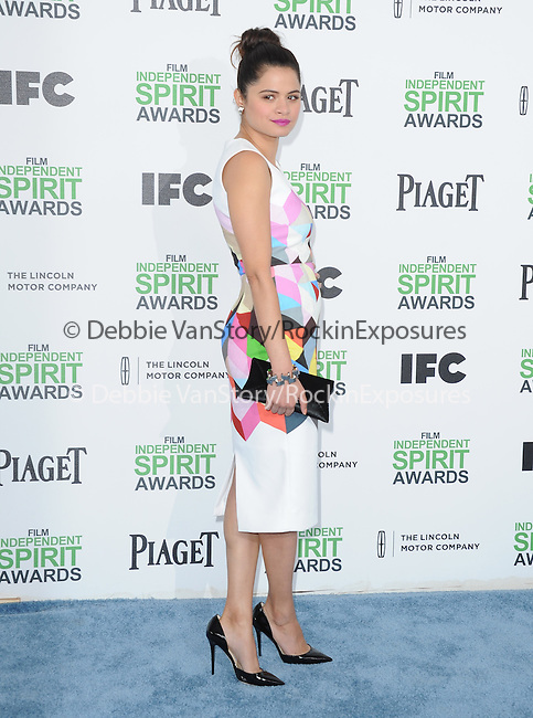 Melonie Diaz<br />  attends The 2014 Film Independent Spirit Awards held at Santa Monica Beach in Santa Monica, California on March 01,2014                                                                               © 2014 Hollywood Press Agency