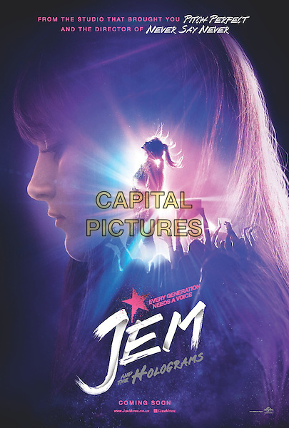 Jem and the Holograms (2015) <br /> POSTER ART<br /> *Filmstill - Editorial Use Only*<br /> CAP/FB<br /> Image supplied by Capital Pictures