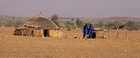 Near Bankilare, southwestern Niger - Bella House and Landscape