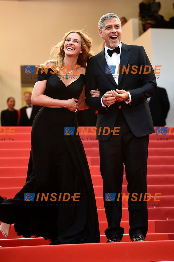 Julie Roberts, George Clooney<br /> Festival di Cannes 2016 <br /> Foto Panoramic / Insidefoto