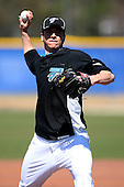 March 1, 2010:  Pitcher Zachary (Zach) Stewart (73) of the Toronto Blue Jays during practice at Englebert Complex in Dunedin, FL.  Photo By Mike Janes/Four Seam Images