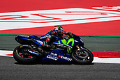 June 10th 2017,  Barcelona Circuit, Montmelo, Catalunya, Spain; MotoGP Grand Prix of Catalunya, qualifying day; Maverick Vinales of  Movistar Yamaha MotoGP during the qualifying session