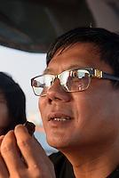 Wang Da-Fu, lokaler Gro&szlig;investor in Sanya auf der Insel Hainan, China<br /> Wang D-Fu local tycoon, Sanya, Hainan island, China