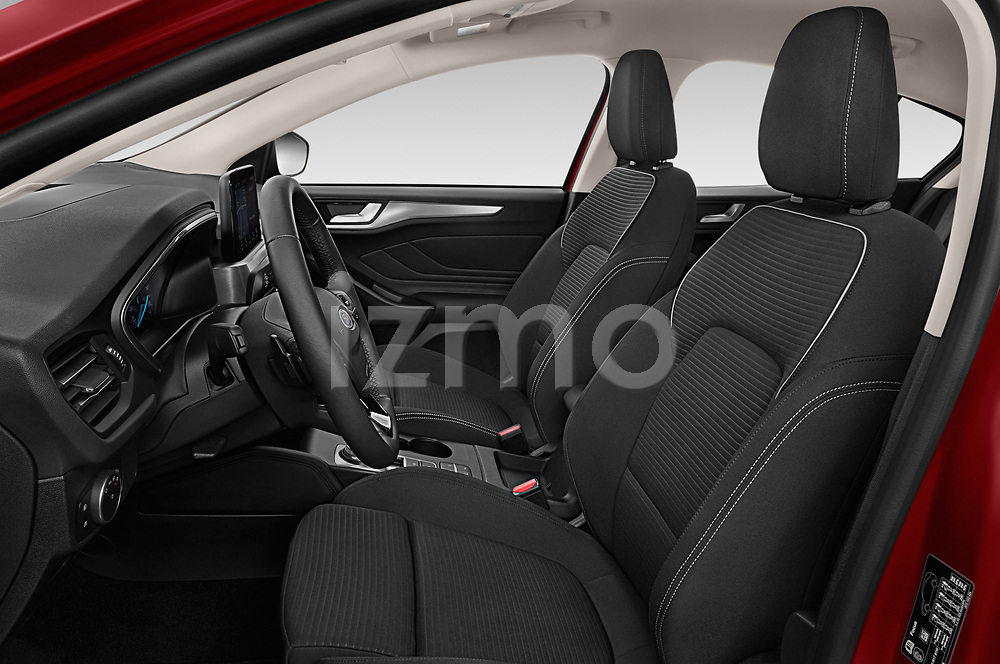 Front seat view of a 2019 Ford Focus Titanium Business 5 Door Hatchback front seat car photos
