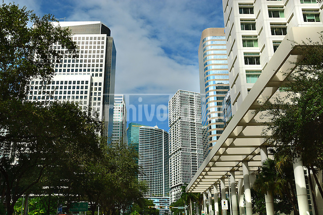 Brickell Avenue, the fastest growing ,major and wealtiest  financial district of Miami, made in good portion from Latin America money. Wealthy people from all over Latin America, wealthy refugees from many leftist governments at the same time that corrupted officials from those same governments, poured their money in real state at Brickell, making the building surge like mushrooms in just a bunch of years. Half a million square meters of banks, financial service companies, export and import plus luxury condos are the real capital city of Latin America