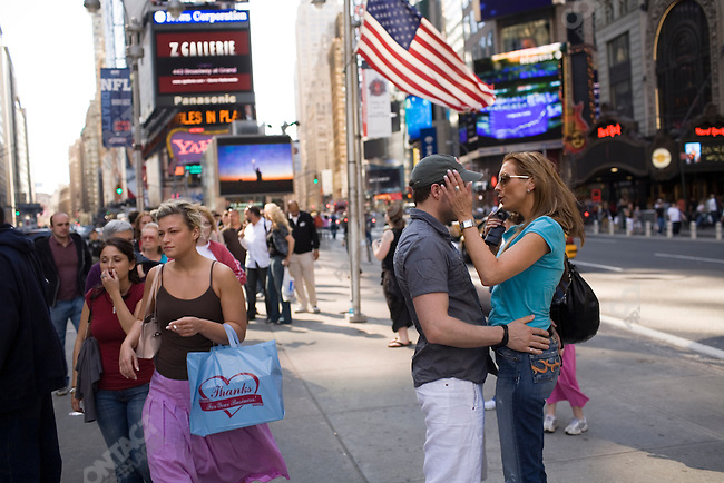 Times Square. New York City, April 22, 2007.