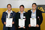 Softball Girls Finalists. ASB College Sport Young Sportsperson of the Year Awards 2006, held at Eden Park on Thursday 16th of November 2006.<br />