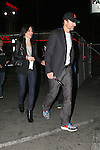 ..November 13th 2011  ..I think this is Jennifer Murray a famous Uk actress holding hands with her boyfriend as they left the  Music Box LA Matadors in Hollywood California ..AbilityFilms@yahoo.com.805-427-3519.www.AbilityFilms.com......