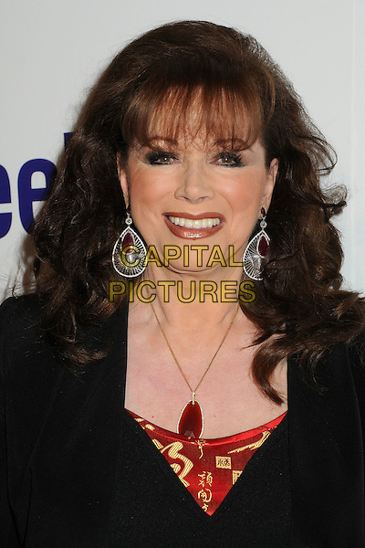 Jackie Collins.BritWeek 2012 Official Launch held at a Private Residence, Los Angeles, California, USA..April 24th, 2012.headshot portrait black red necklace earrings .CAP/ADM/BP.©Byron Purvis/AdMedia/Capital Pictures.