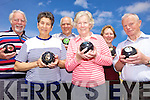 HIT THE JACK: Glenbeigh indoor bowlers who are trying to recruiting new members, l-r: Gerard Monen, Margaret Gill, Terry Newham, Catherine O'Sullivan, Margaret Lynch, Michael O'Sullivan.