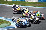 Jerez. Spain. 06/04/2014. CEV moto2 race in Jerez circuit. 57 Edgar Pons