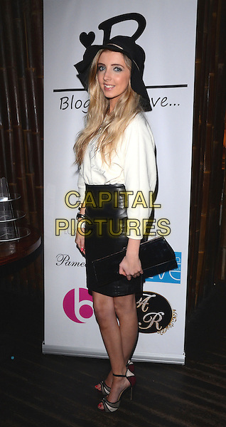 LONDON, ENGLAND - JANUARY 29: Alice Barlow at the 'Bloggers Love...Secret Garden' at Mahiki, on January 29, 2014 in London, England<br /> CAP/MB/PP<br /> &copy;Michael Ball/PP/Capital Pictures