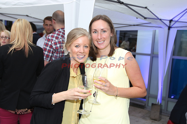 Radisson Blu Summer Party.Adele Page & Vicky Jones.20.06.12.©Steve Pope