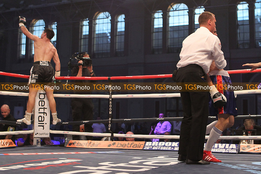 John Ryder vs Sandor Micsko in a boxing contest at the Alexander Palace, London, promoted by Matchroom Sport - 08/09/12 - MANDATORY CREDIT: Chris Royle/TGSPHOTO - Self billing applies where appropriate - 0845 094 6026 - contact@tgsphoto.co.uk - NO UNPAID USE..