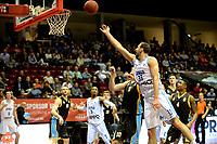 GRONINGEN - Basketbal, Donar - Den Helder Suns, Martiniplaza, Dutch Basketbal League,  seizoen 2018-2019, 27-11-2018,  Donar speler Drago Pasalic op weg naar een score