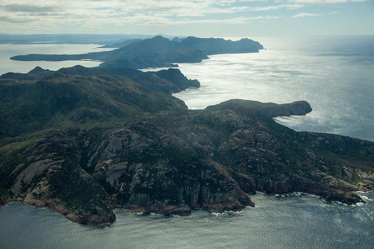 Scenic Flight over Freycinet National Park on the East Coast of Tasmania