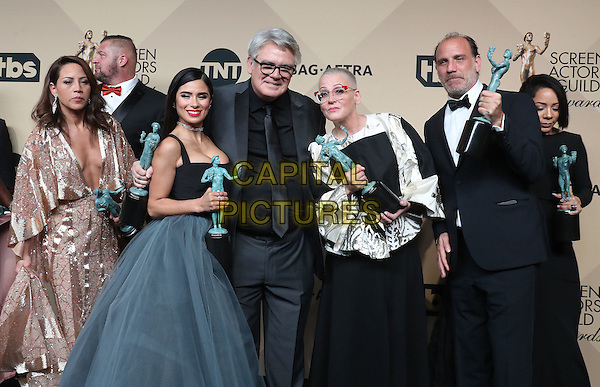 29 January 2017 - Los Angeles, California - Michael Harney, Lori Petty, Nick Jackie Cruz, Selenis Leyva, Adrienne C. Moore. 23rd Annual Screen Actors Guild Awards held at The Shrine Expo Hall. <br /> CAP/ADM/FS<br /> &copy;FS/ADM/Capital Pictures
