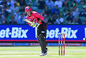 10th February 2019, Melbourne Cricket Ground, Melbourne, Australia; Australian Big Bash Cricket, Melbourne Stars versus Sydney Sixers;  Josh Philippe of the Sydney Sixers flicks the ball through the leg side