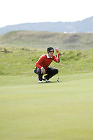 Rory McNamara (Headfort) during round 1 of The West of Ireland Amateur Open in Co. Sligo Golf Club on Friday 18th April 2014.<br /> Picture:  Thos Caffrey / www.golffile.ie
