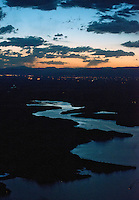 Sunset on Lake Pueblo, Friday the 13th. June 2014. 85178