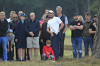 Mike Lorenzo-Vera (FRA) on the 13th during Round 3 of the Sky Sports British Masters at Walton Heath Golf Club in Tadworth, Surrey, England on Saturday 13th Oct 2018.<br /> Picture:  Thos Caffrey | Golffile