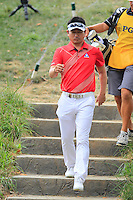 YE YANG (KOR) crosses the footbridge from the 9th tee during Thursday's Round 1 of the 2014 PGA Championship held at the Valhalla Club, Louisville, Kentucky.: Picture Eoin Clarke, www.golffile.ie: 7th August 2014