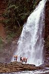 Chiriqui Viejo river Waterfall, Chiriqui province, Panama, C.A.