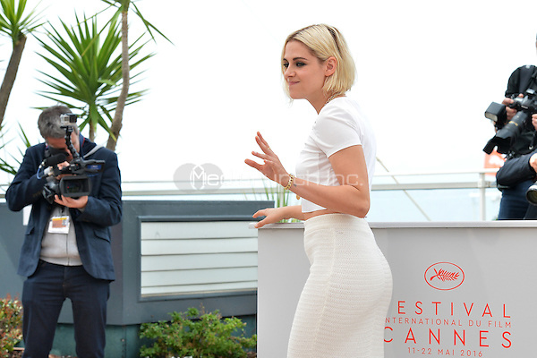 Kristen Stewart at the 'Cafe Society' Photocall during the 69th Annual Cannes Film Festival at the Palais des Festivals on May 11, 2016 in Cannes, France.<br /> CAP/LAF<br /> &copy;Lafitte/Capital Pictures /MediaPunch ***NORTH AMERICA AND SOUTH AMERICA ONLY***