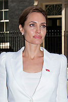 Angelina Jolie meets with British Prime Minister David Cameron - London