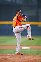 Bowie Baysox starting pitcher Chris Lee (54) during a game against the Erie SeaWolves on May 12, 2016 at Jerry Uht Park in Erie, Pennsylvania.  Bowie defeated Erie 6-5.  (Mike Janes/Four Seam Images)