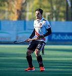 UTRECHT -   Tanguy Cosyns (Adam) tijdens  de hoofdklasse hockeywedstrijd mannen, Kampong-Amsterdam (4-3).  COPYRIGHT KOEN SUYK