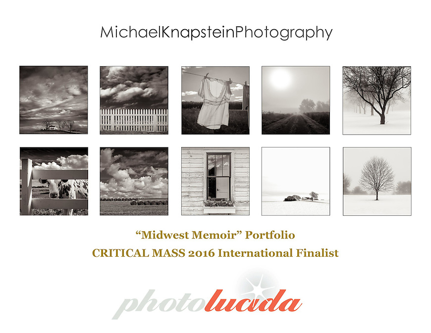 "Michael Knapstein was named a finalist in the Photolucida CRITICAL MASS 2016 international competition for his ""Midwest Memoir"" portfolio of 10 images."